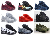2018 Plus TN Designer Running Shoes Off new Olive In Metallic White Silver Colorways Para hombre para mujer Triple Black Basketball