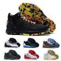 Tamaño 2020 Rose 10 MVP Derrick Rose zapatos de baloncesto de los muchachos calientes de D 10S X zapatos de calidad superior de los zapatos de diseño 10s Deporte Formadores 40-46
