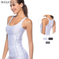 WANAYOU Summer Quick Dry Yoga Shirts Breathable Outdoor Runn...