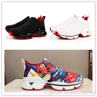 Latest Multi- colored Red Bottom Sneakers, Classic Space Run ...
