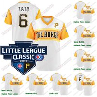 Polanco Gregory El Coffee 2019 Little League Classic Jersey Pirati Josh Bell JB Melky Cabrera MELK MAN Adam Frazier FRAZ Archer FLACO FUERT