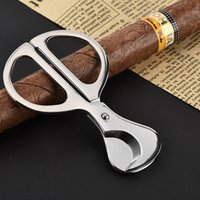 Neuesten Edelstahl Zigarrenschneider Messer Sharp Durable Metall Zigarre Schere Tragbare Tabak Zigarren Werkzeug Raucherzubehör DBC BH3500