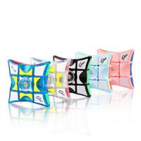 Nueva creativo 1x3x3 cubo mágico de la persona agitada Spinner Rompecabezas Magic Cubes Spinner juguete antiestrés Puzzle juguetes para regalos de los niños