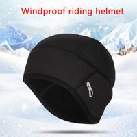 Unisex под шлем эластичный Mortycycle Beanie Hat лыжная головная одежда ушные клапаны сноуборд зимняя велосипедная крышка бегущий ветрозащитный теплый
