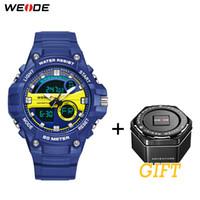 WEIDE Sport Militare lussuoso orologio numerale prodotto digitale water resistant 50 metri di quarzo analogico di mano degli uomini orologi