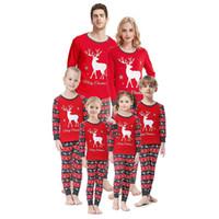 가족 잠옷 크리스마스 순록 잠옷 엄마와 나 잠옷 소년 소녀 산타의 사슴 잠옷 어린이 가족 잠옷 세트를 일치