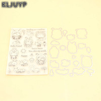 Venta al por mayor Cute Bee Stamp Metal Cutting Dies plantillas para DIY Scrapbooking / álbum de fotos decorativo relieve DIY tarjeta de papel