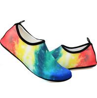 الأحذية النسائية ورجل المياه الأحذية الرياضية المنزل بيرفوت أكوا الجوارب الجافة لشاطئ السباحة تصفح اليوغا ممارسة الانزلاق على حجم الملونة 36-49