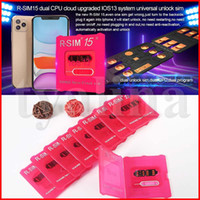 RSIM15 for iOS13 unlock card RSIM 15 R- SIM15 RSIM 15 Dual CP...