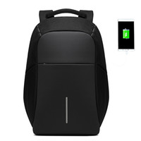 Dropshippers Men Anti theft Backpack USB Charging 15. 6 Lapto...