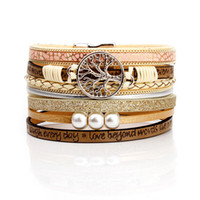 5 стили женщины кожаный браслет женский модный Шарм широкий Femme многослойные браслеты браслеты для мужчин ювелирные изделия старинные браслет