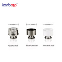 XL Керамический кварцевый титановый нагревательный змеевик гвоздь для Kanboro eCube Master G9 Henail Plus 510 E Nail V3 TC Port замена камеры чашка чаша