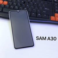 100PCS غطاء كامل الخصوصية الزجاج المقسى مكافحة التجسس الشاشة حامي لسامسونج غالاكسي A10 A20 A30 A40 A50 A60 A70 A80 A90 مجانا DHL