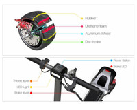 The Mercane Widewheel electric scooter Parts, Powerful WW mob...