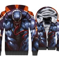 Venom3D Print Hoodie Men Movie Hooded Sweatshirts Harajuku C...