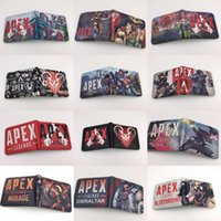 Apex Legends Cosplay Wallet With Card Holder Coin Pocket tee...