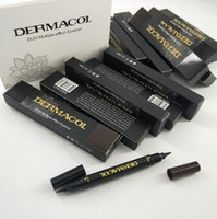 Maquillage عيون ماكياج العلامة التجارية الثنائي متعددة effecr كحل 2G + 2G / جهاز كمبيوتر شخصى الأسود / البني جعل ما يصل كحل الشحن المجاني