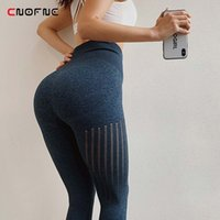 CNOFNE Women Scrunch Butt Workout Tights High Waisted Energy...
