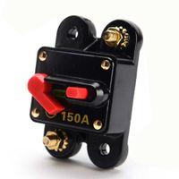 Interruptor automático de audio para automóvil 150A Reinstalado Reemplace el fusible Restablecer el interruptor de límite