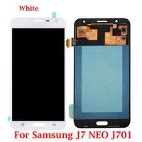 İyi Kalite% 100 Samsung J701F LCD Ekran için Samsung J7 NEO J701 LCD Sayısallaştırıcı Meclisi Değiştirme için test edilmiştir