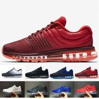 Max 2017 vendita calda 2017 KPU uomini donne scarpe di qualità del Mens casuali casuali scarpe da walking Corsa Sneakers formatori formato esterno 36-45