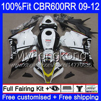 ホンダCBR 600RR CBR600 RRブラックホット2009 2011 2011 2012 282hm.37 CBR 600 RR 600F5 F5 CBR600RR 09 10 11 12フェアリングキット