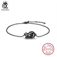 New ORSA Original Jewels Real 925 Sterling Silver Bracelet F...