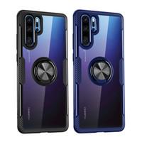Antichoc Cas De Téléphone Pour Huawei P40 Pro P30 Lite P20 Nova 5 T Magnétique Support Cas Pour Huawei Compagnon 30Pro 30 lite 20 20Pro P Smart 2019
