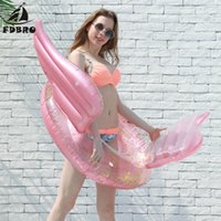 FDBRO Inflatable Pool Float Tube Raft Swimming Ring Summer W...