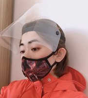 Protective Face Shield Full Face Isolation Mask Transparent ...