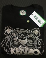 Hot Sale Men Women XXLkenzo embroidery tiger head long sleev...