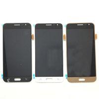 LCD Ekran Samsung Galaxy J3 J320 OLED Ekran Dokunmatik Paneller Digitizer Değiştirme Çerçevesi olmadan