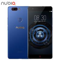 Téléphone portable d'origine 5.5 'MT6750 3 Go + 64 Go 13MP + 16MP 3000mAh de reconnaissance d'empreintes digitales Smartphone Black Gold de ZTE nubia M2 lite 4G