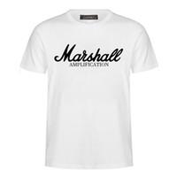 Venta caliente Verano 2019 algodón Marshall camiseta hombres manga corta Camiseta hip hop streetwear para fan hipster M-3XL MC43