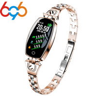 696 Woman H8 Smart Watch Bracelet Heart Rate Blood Pressure ...