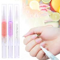 Nagel-Häutchen-Öl Pen 15 Smells Ernährung Öl Pen Revitalizer Öl Enthärter Pen Reparatur Nagel-Haut-Schutz-Behandlung Pens