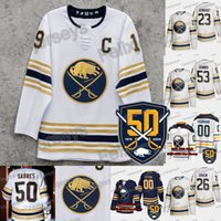 50th 2019-20 Buffalo Jeff Skinner Jack Eichel Casey Mittelstadt Marcus Johansson Rasmus Ristolainen Montour Rasmus Dahlin Sheary Sabres