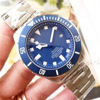 Швейцарская Марка Мужских Часы 25600TB Diver Часы для мужчин Механического автоматических движений Часов Nightlight Luminous Top Designer Водонепроницаемого
