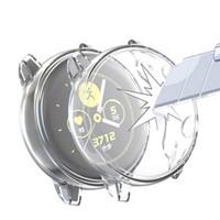 Funda de recubrimiento para Samsung Galaxy Watch Active 360 grados TPU suave anti-caída todo incluido para Samsung Smart Watch Envío gratis