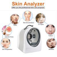 얼굴 피부는 피부 분석 기기 측정 / 시험 / 분석을위한 아름다움 기계 M8000 분석