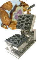 Ücretsiz nakliye Elektrik 11 adet Mini Taiyaki Makinesi Balık waffle makinesi Çeşitlendirilmiş Waffle Makinesi