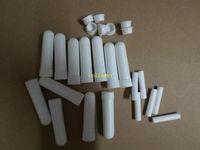 1000sets / lot Sıcak satış Blank Nazal inhaler Sopalar, Plastik Blank Aroma Burun İnhalatörler DIY esansiyel yağı