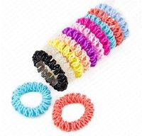 Cavo del legare di telefono fasce per le donne 5,5 centimetri fasce elastiche dei capelli di gomma di plastica Corde capelli anello Bambina Accessori Capelli D62801