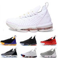 Hot King 16s basketball Shoes Mens Hot quality 16 Black Whit...