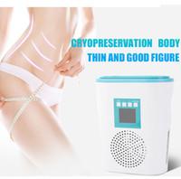 휴대용 가정용 미니 한 Cryolipolysis 냉동 지방 바디 미용 기기 Welight 손실 부정적인 압력 슬리밍 기계 무료 배송