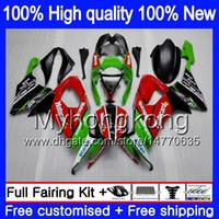 Kawasaki ZX 10 R ZX1000C ZX-10R 2008年2009年02R 2009年2009年2009年22月20日2010年220赤緑ZX 10R 1000CC ZX1000 ZX10R 08 09 10全フェアリング