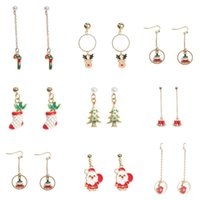 Christmas gifts new ideas long drip drip earrings simple sma...