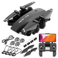 F63 4K HD-Doppelkamera 5G WiFi FPV-faltbarer Drohne, optischer Fluss-GPS-Position UAV, elektrische Einstellkamera, automatisch folgen Quadcopter, 3-1