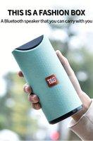 TG113 10w Portable Column Wireless Bluetooth Speaker USB TF FM Radio Music Stereo Subwoofer Superbassear Sound Box