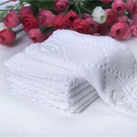 Вечеринка свадебный стол салфетки дома кухонная печать узор чайное полотенце абсорбирующее блюдо чистящие полотенца коктейль салфетка vt0685